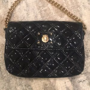 Marc Jacobs Leather Black Crossbody with Dustbag